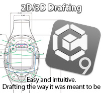 2D/3D drafting Graphite