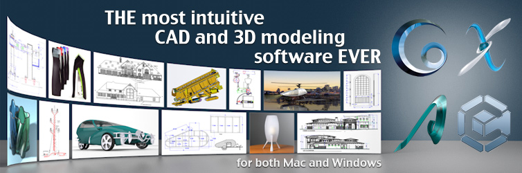 The Most Intuitive CAD and 3D Modeling Software Ever