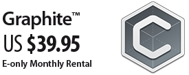Grapdite CAD E-only Monthly Rental